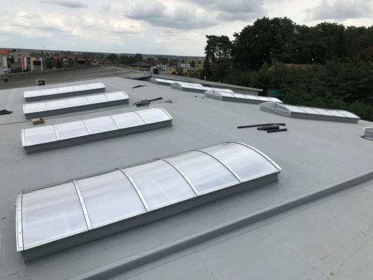 pasmo świetlne dachowe